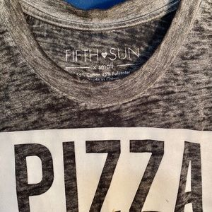 Pizza is life tank top!
